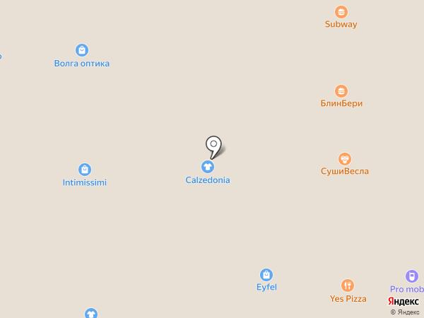 Calzedonia на карте Астрахани
