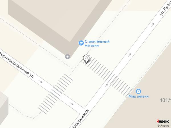 Фути-сити на карте Астрахани