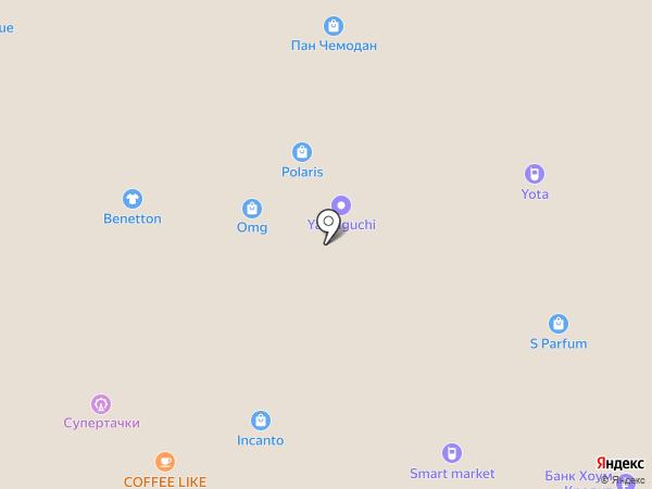 Гарфилд на карте Астрахани