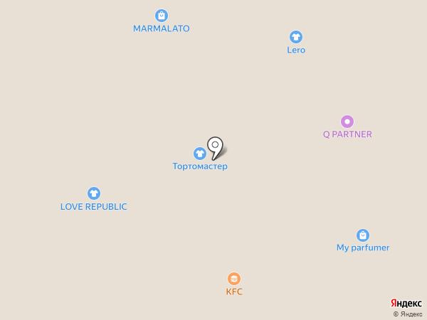 GRAZZA на карте Астрахани