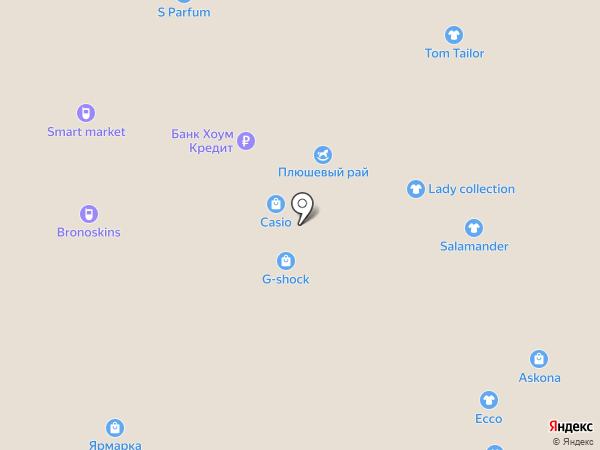 Плюшевый рай на карте Астрахани