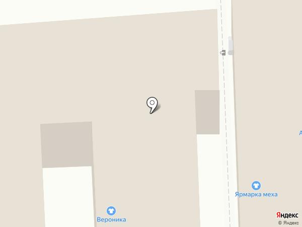 Феерия на карте Астрахани