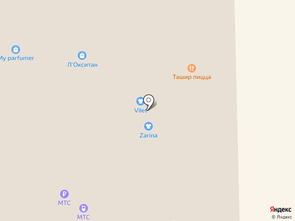 Stradivarius на карте Астрахани
