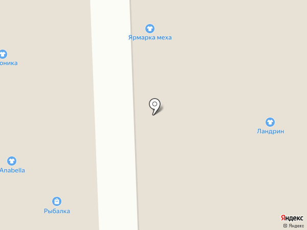 Магазин тканей на карте Астрахани