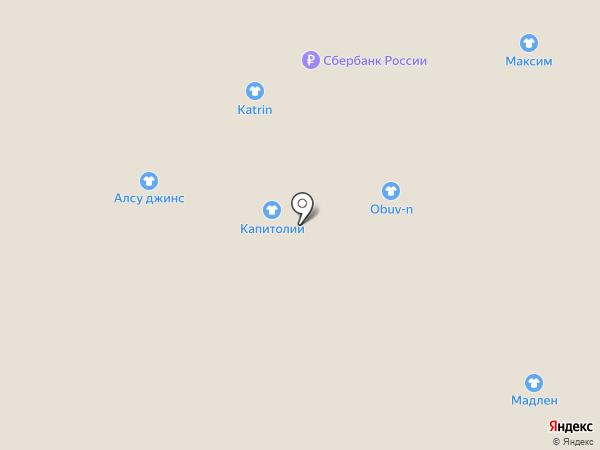 Марио-157 на карте Астрахани