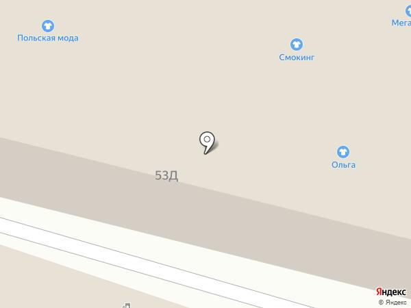 Ландрин на карте Астрахани