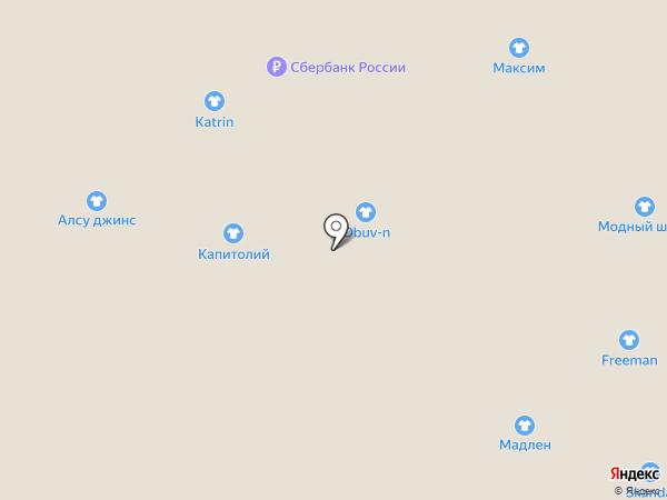 Glase на карте Астрахани