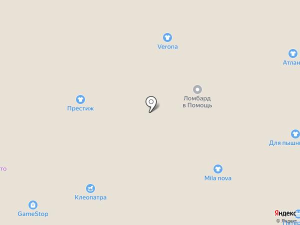 Малинка на карте Астрахани