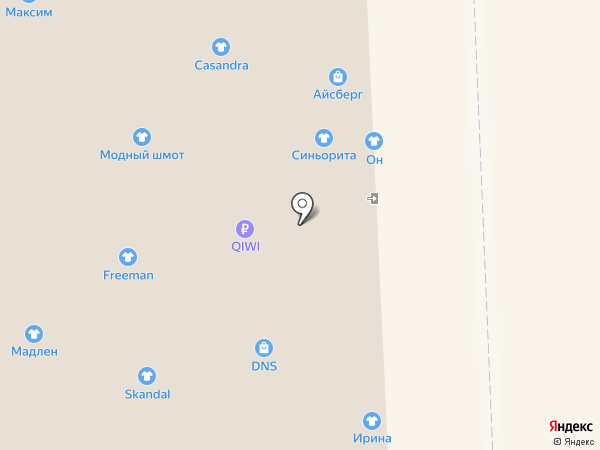 АМК Электроника на карте Астрахани