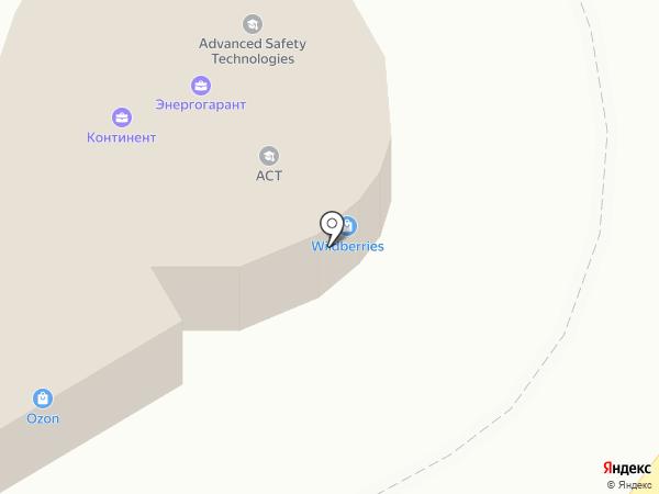 Услада на карте Астрахани