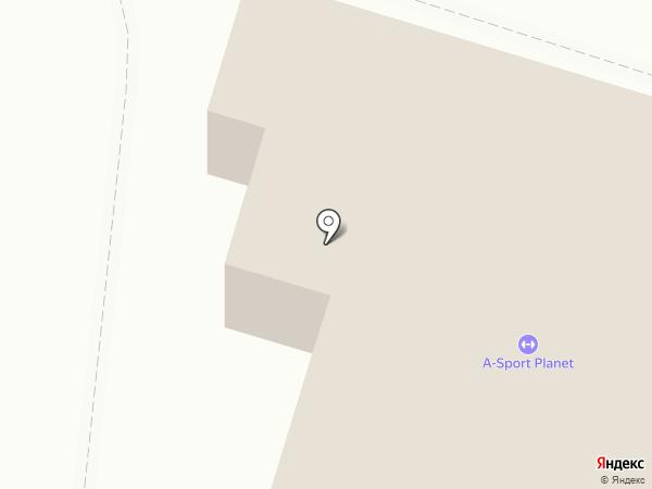 Фитнес-клуб на карте Астрахани