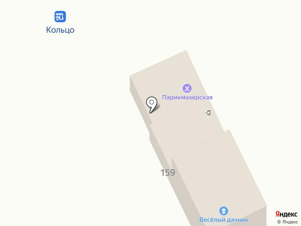 Веселый дачник на карте Кирпичного завода №1