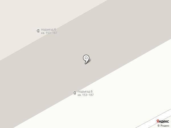 Радужный на карте Астрахани