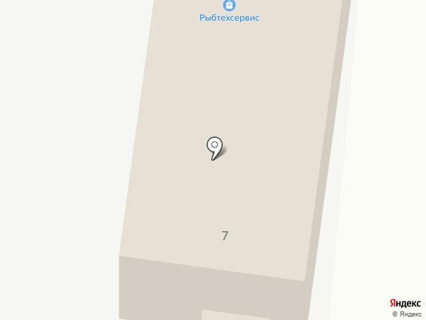 Рыбтехсервис на карте Астрахани
