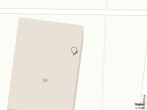 Строительный участок №677 на карте Астрахани