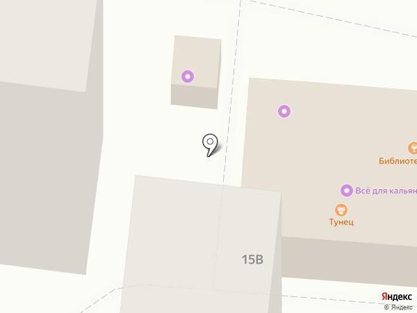 Элина на карте Астрахани