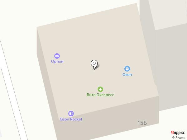 СтандАрт на карте Астрахани