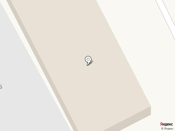 Производственная база на карте Астрахани