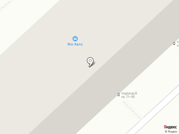 RM Авто на карте Астрахани