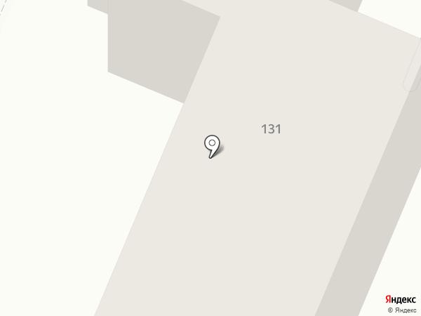 Социальная на карте Астрахани