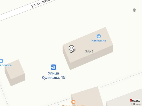 Компакт на карте Астрахани