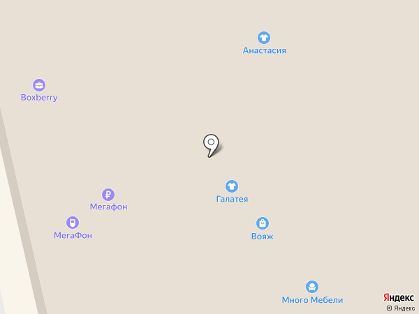 Бисер на карте Астрахани