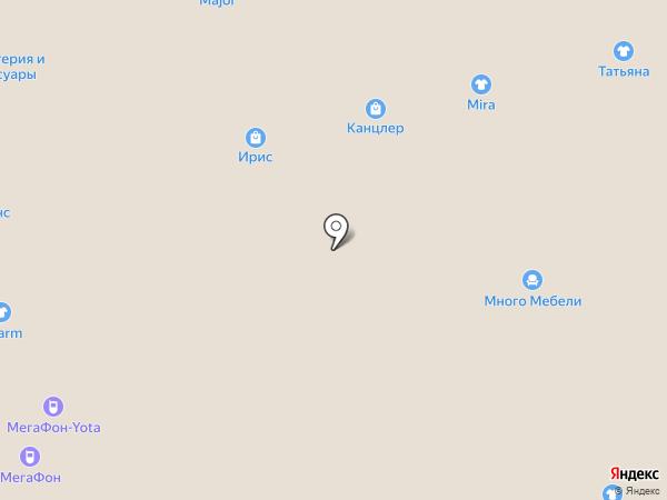 Мира на карте Астрахани