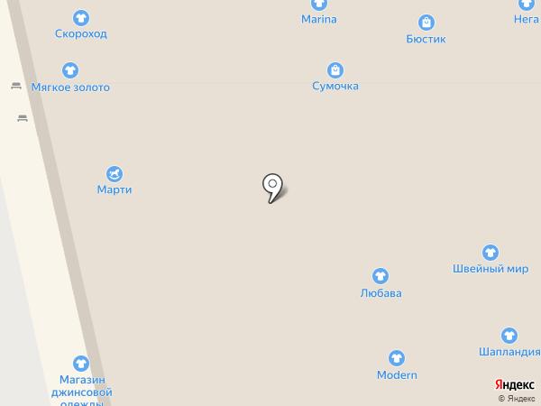 Островок Праздник на карте Астрахани