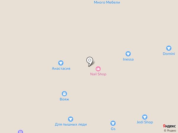 Магазин по продаже бижутерии на карте Астрахани