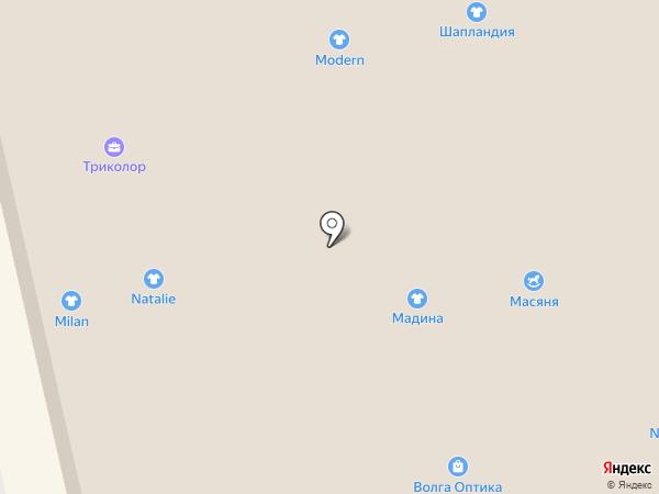 Магазин подарков и сувениров на карте Астрахани