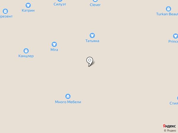 Rosa Bella на карте Астрахани