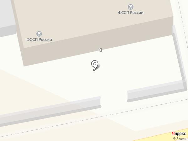 Кировский районный отдел судебных приставов г. Астрахани на карте Астрахани
