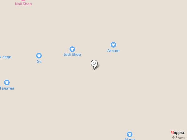 Сеть магазинов женской одежды на карте Астрахани
