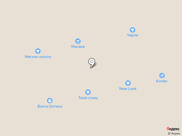 ДиМонде на карте Астрахани