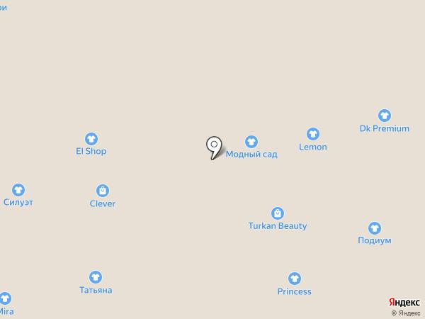 Магазин по продаже пальто на карте Астрахани