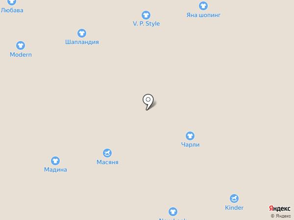 Марти на карте Астрахани