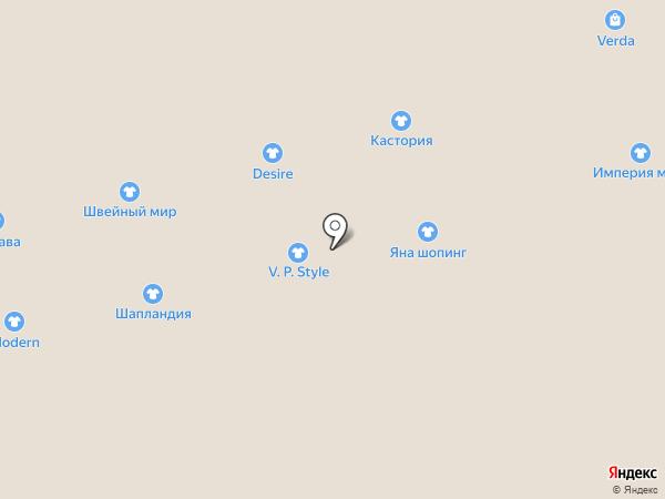 Магазин классической одежды на карте Астрахани