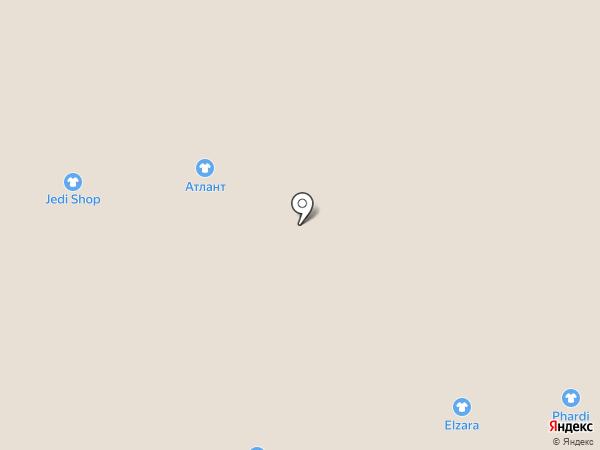 Детки-конфетки на карте Астрахани