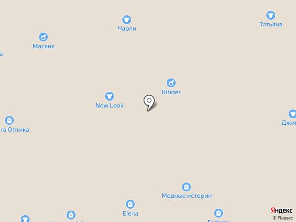 Магазин мужской одежды на карте Астрахани