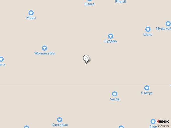 Фабула на карте Астрахани