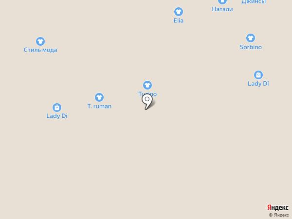 Симпатия на карте Астрахани