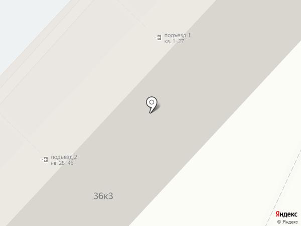 Скоморох на карте Астрахани