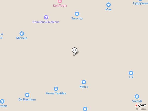 Магазин мужской одежды и нижнего белья на карте Астрахани