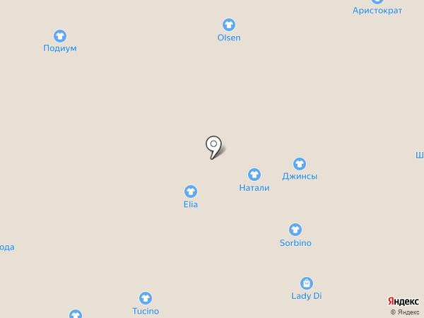 Olsen на карте Астрахани