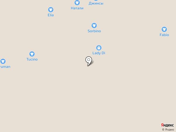 Lady Di на карте Астрахани