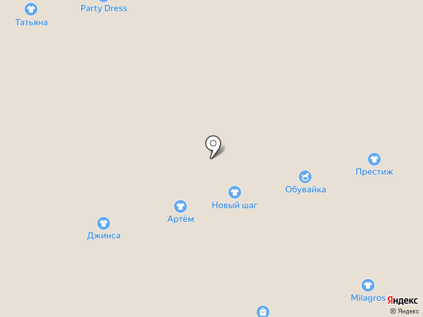 Талия на карте Астрахани