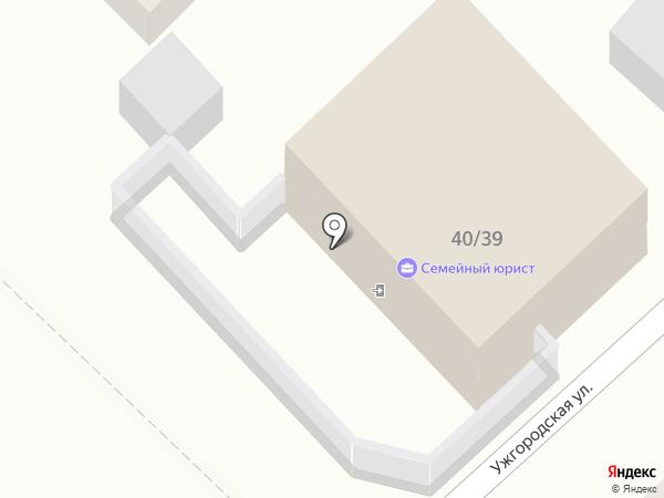 Мажордом на карте Астрахани
