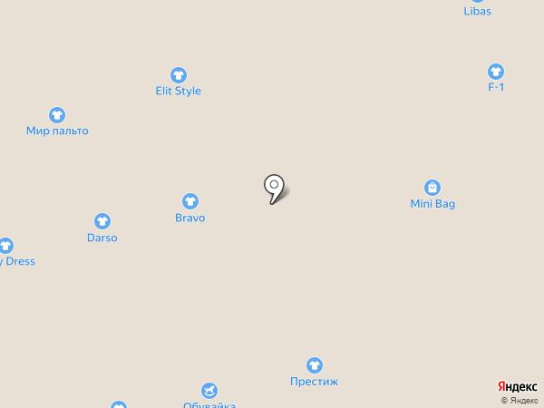 Магазин купальников и верхней одежды на карте Астрахани
