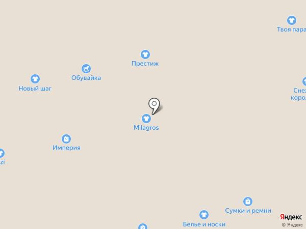 Giovani на карте Астрахани