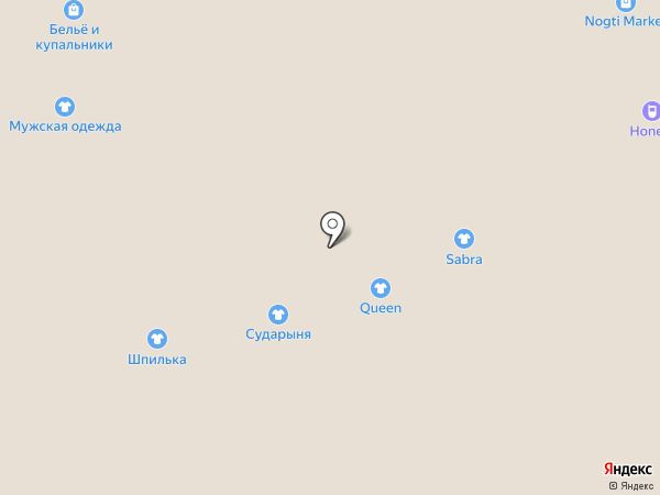 Салон по продаже женской обуви на карте Астрахани